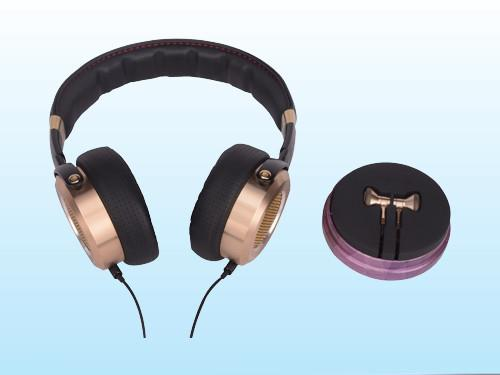 Headphones two-color mold